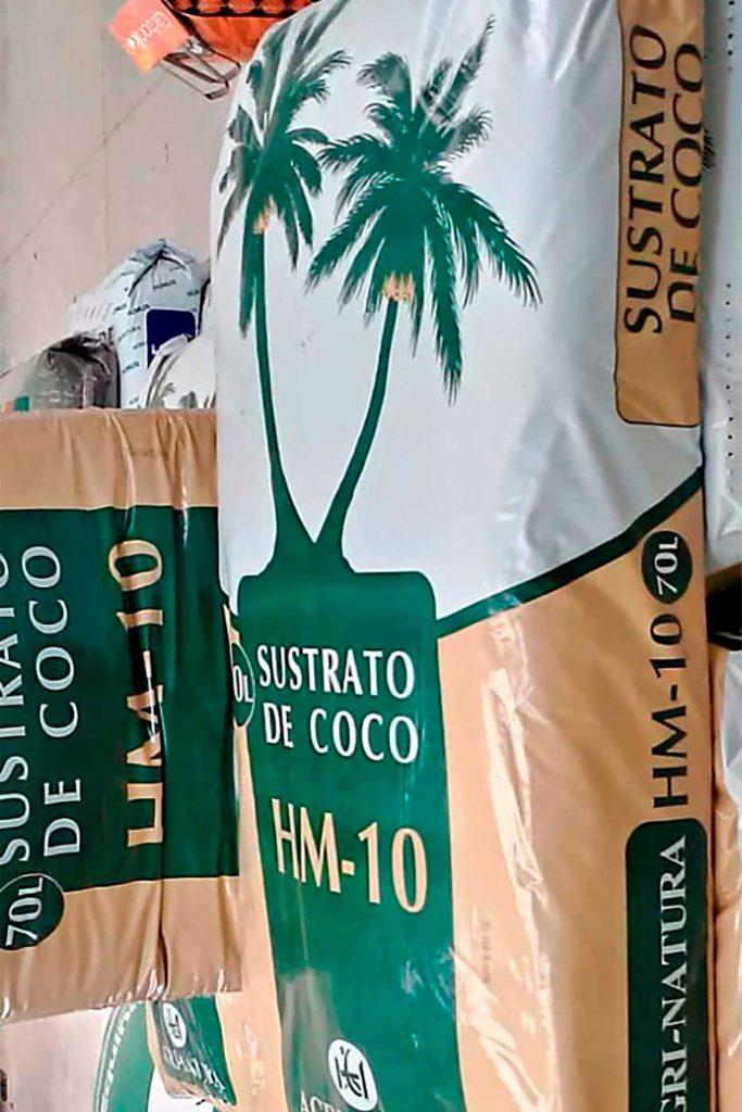 Abonos para siembra Sustrato de Coco 02 - Semilleria Echaguy, Dos Hermanas