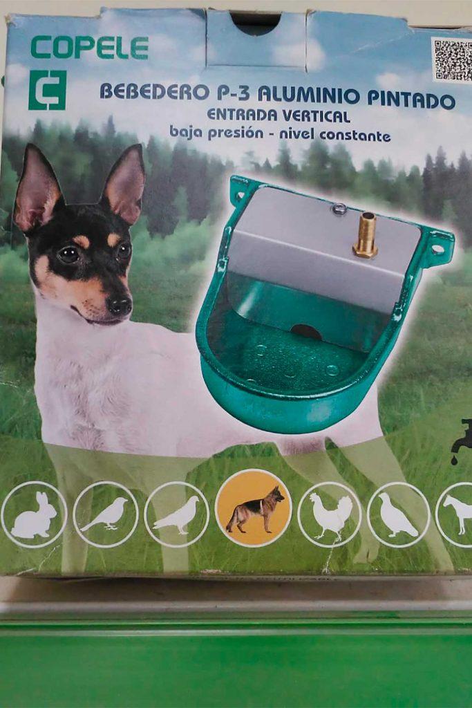 Bebedero aluminio para perros - Semilleria Echaguy, Dos Hermanas