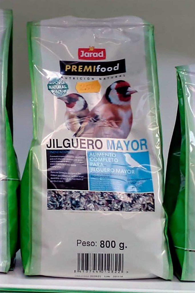 Comida para pájaros, Jarad Jilguero - Semilleria Echaguy, Dos Hermanas
