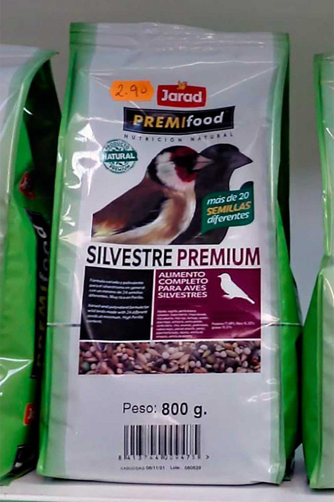Comida para pájaros, Jarad Silvestre Premium - Semilleria Echaguy, Dos Hermanas