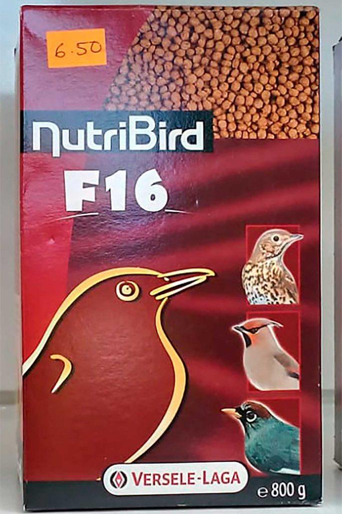 Comida para pájaros, Versele Laga NutriBird F16 - Semilleria Echaguy, Dos Hermanas
