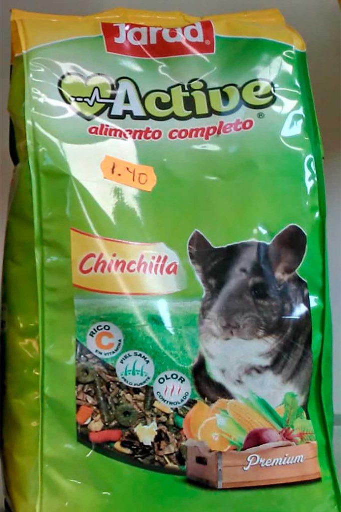 Comida para roedores, Jarad Chinchilla - Semilleria Echaguy, Dos Hermanas