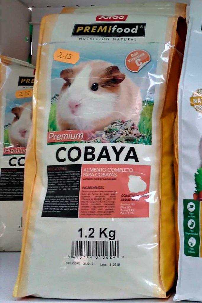 Comida para roedores, Jarad Cobaya - Semilleria Echaguy, Dos Hermanas