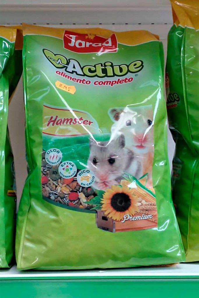 Comida para roedores, Jarad Hamster - Semilleria Echaguy, Dos Hermanas
