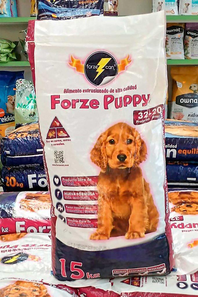 Pienso para perros Forzecan Puppy - Semilleria Echaguy, Dos Hermanas