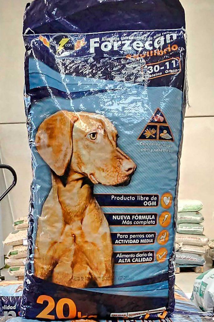 Pienso para perros Forzecan - Semilleria Echaguy, Dos Hermanas