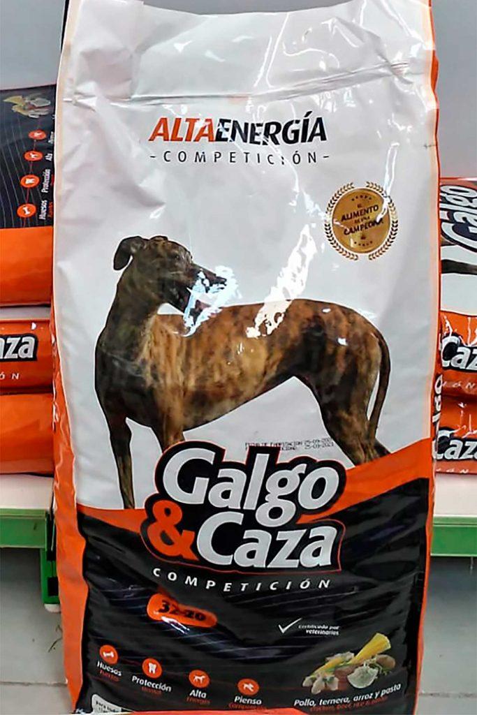 Pienso para perros Galgo y Caza - Semilleria Echaguy, Dos Hermanas