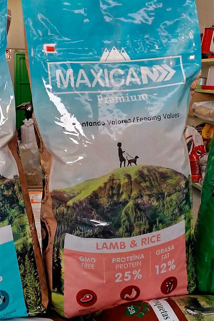 Pienso para perros Maxican Lamb Rice - Semilleria Echaguy, Dos Hermanas